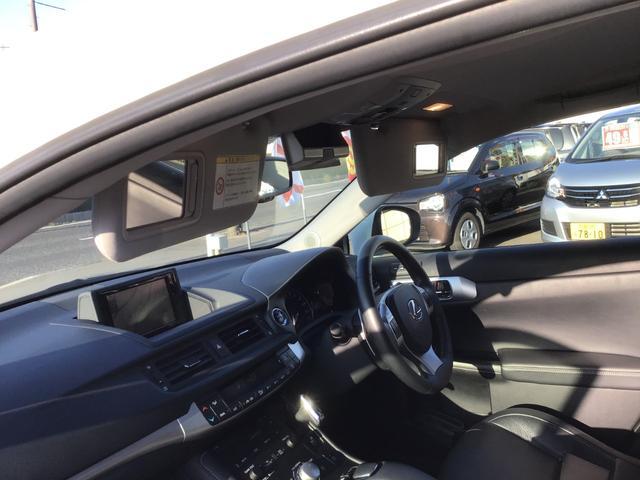 「レクサス」「CT」「コンパクトカー」「広島県」の中古車31