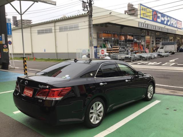 「トヨタ」「クラウンハイブリッド」「セダン」「広島県」の中古車7
