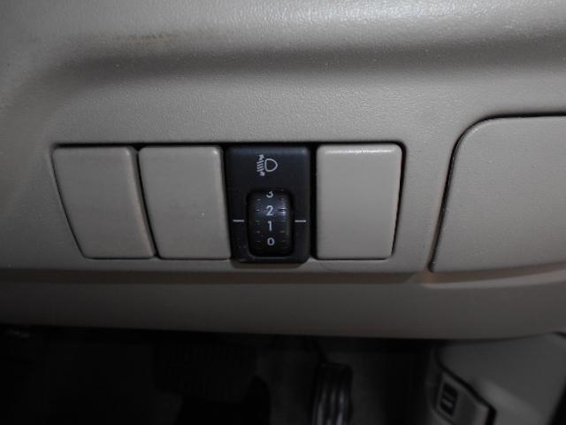 荷物や4名乗車でライト調整が可能なスペースです!