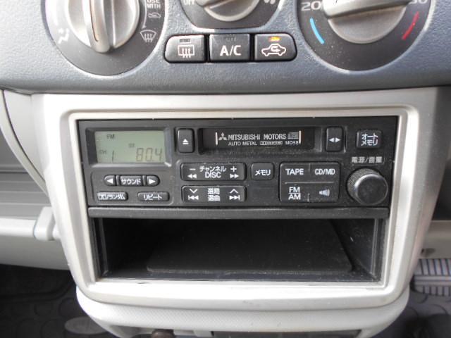 純正ステレオ付きのEKアクティブ4WDインタークラー付きターボです!