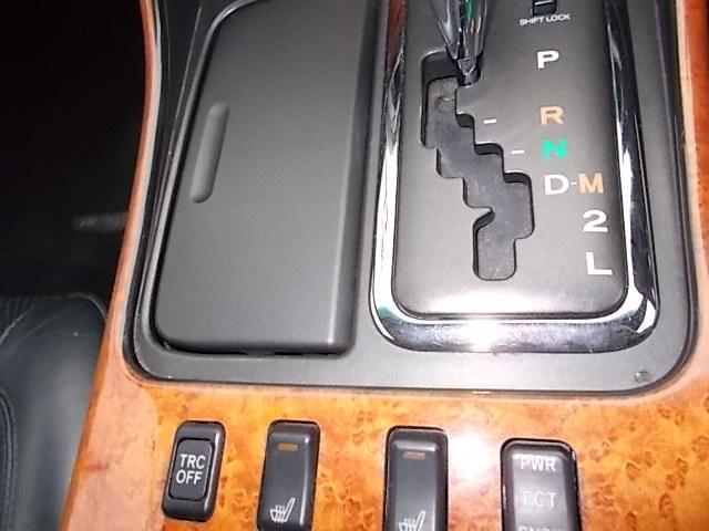 運転席助手席レザーシートのヒーター付きアリストベルテックスローダウンです!