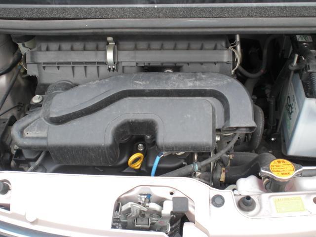 KF型エンジンはタイミングチェーン採用