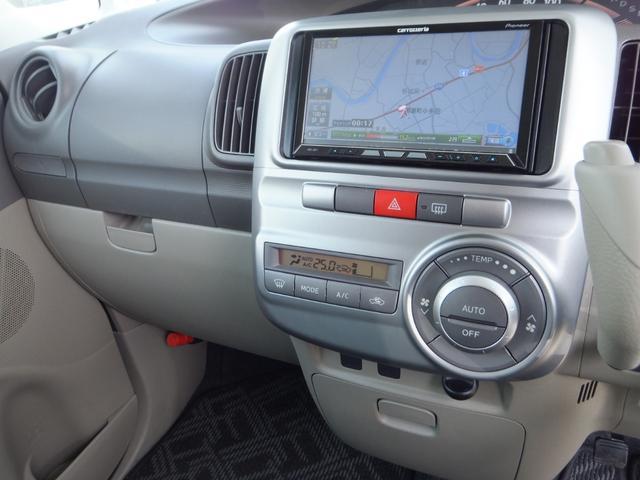 X ワンオーナー 禁煙車 左側電動スライドドア ETC ナビ バックカメラ フルセグTV CD DVD アイドリングストップ オートエアコン 盗難防止システム(6枚目)