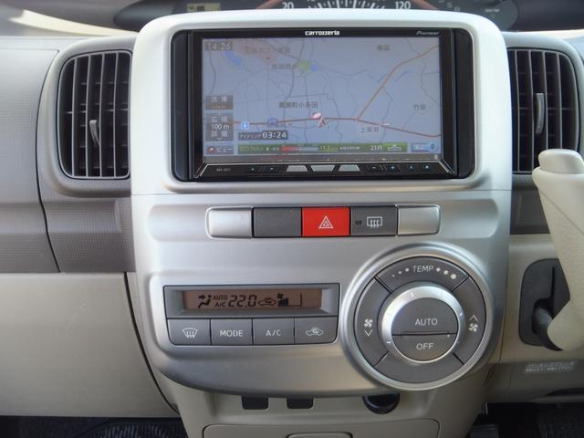 X ワンオーナー 禁煙車 左側電動スライドドア ETC ナビ バックカメラ フルセグTV CD DVD アイドリングストップ オートエアコン 盗難防止システム(7枚目)