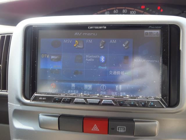 X ワンオーナー 禁煙車 左側電動スライドドア ETC ナビ バックカメラ フルセグTV CD DVD アイドリングストップ オートエアコン 盗難防止システム(10枚目)