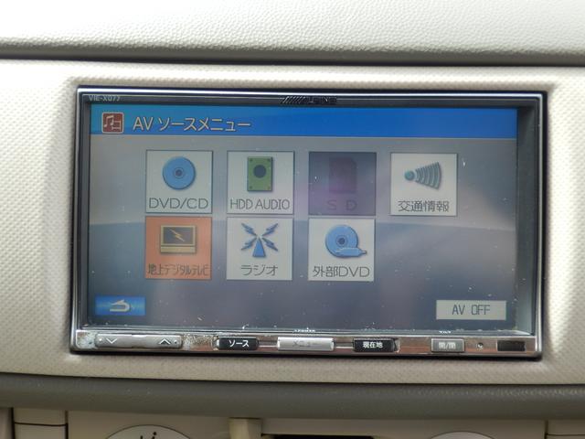 スバル ステラ Lリミテッド HDDナビ フルセグTV スマートキー ETC