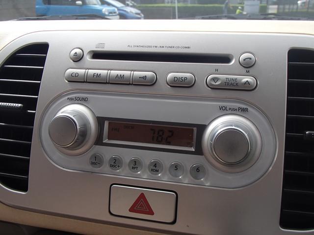 スズキ MRワゴン G 純正CD キーレス