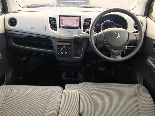 スズキ ワゴンR FX アイドリングストップ SDナビTV シートヒーター