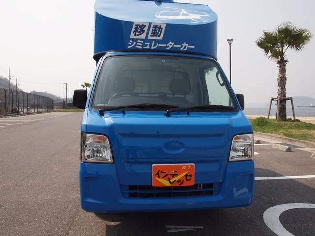 走行5千キロで走行距離の少ないサンバートラックベース車!