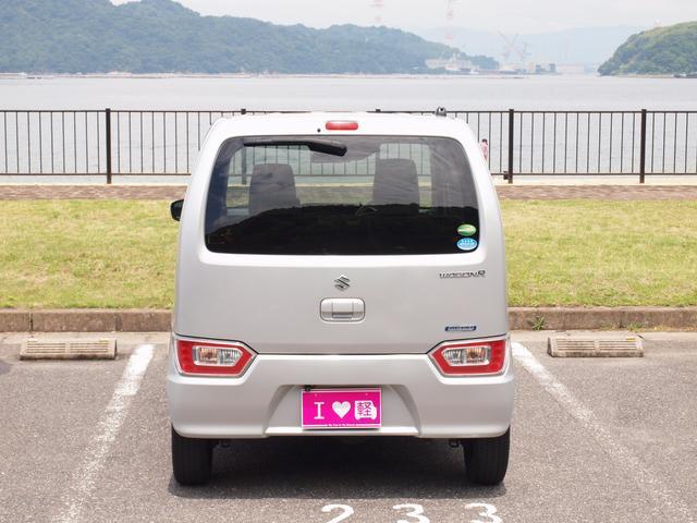 ハイブリッドFX フルタイム4WD ハイブリッドFX CVT シルキーシルバーメタリック チャイルドシート固定機構付きシートベルト UVカットガラス プライバシーガラス(42枚目)