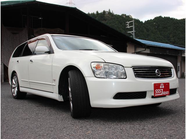 「日産」「ステージア」「ステーションワゴン」「広島県」の中古車4