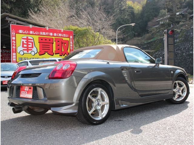 Vエディション タン幌 タン革シート エアロパーツ(2枚目)