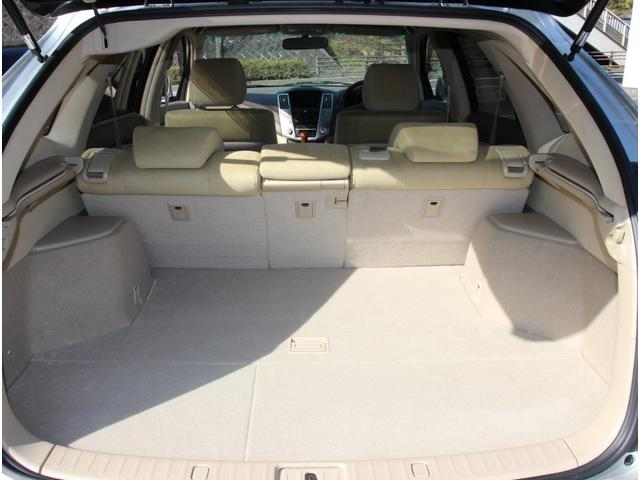 240G アルカンターラバージョン 4WD 純正ナビ フロントサイドバックモニター ETC フルエアロ HID 17インチアルミ ウッドコンビハンドル パワーバックドア トップシェイドフロントガラス キーレス オゾン消臭除菌(19枚目)