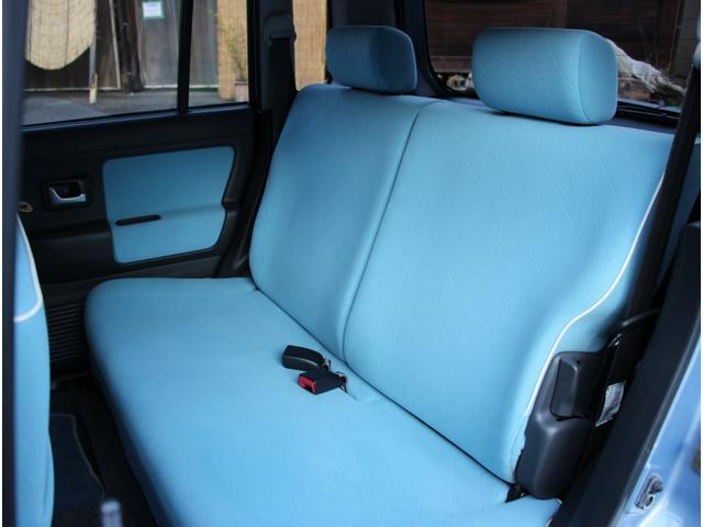 LリミテッドII 走行距離27600km 専用ブルー内装 ナビTV キーレス ベンチシート ホワイト13インチアルミ オゾン消臭除菌(18枚目)