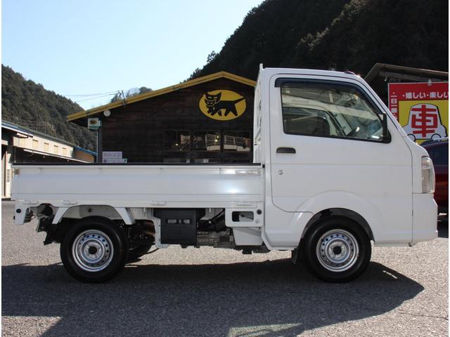 KCエアコン・パワステ 4WD 5速マニュアル エアコン パワーステアリング ラジオ(11枚目)