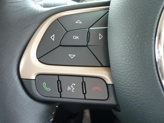 ハンドル操作にてハンズフリー電話操作も可能となっております。