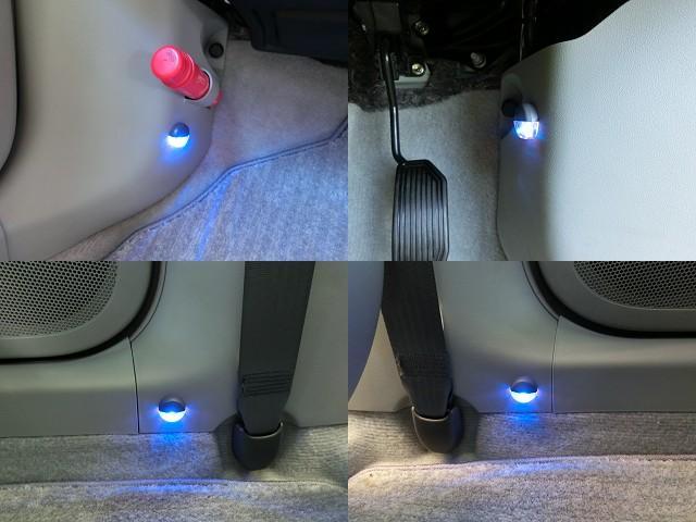 インテリアイルミネーション付☆ドアオープン時点灯し、ドアクローズ後も数秒間点灯します。