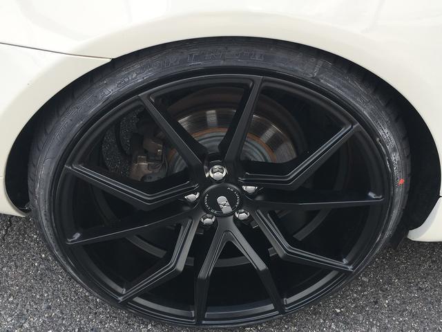E350XOホイール20inch車高調キーレスゴー黒レザー(10枚目)
