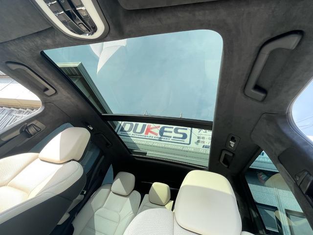 ターボ ティプトロニックS 4WD パノラマサンルーフ プライバシーガラス エントリー&ドライブ ドラレコ BOSEサラウンドシステム パワーシート TVキット 後席シートヒーター&リクライニング ETC 電動リアゲート(39枚目)
