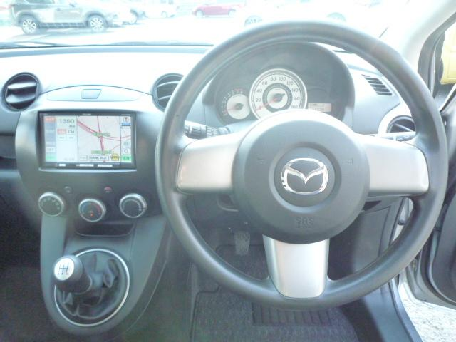 マツダ デミオ 15C ナビ ワンセグ 15AW HID ワンオーナー車