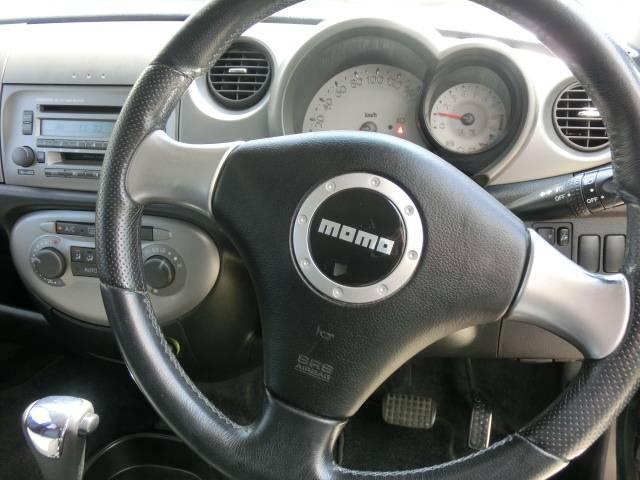 ダイハツ ミラジーノ ミニライト 禁煙車 MOMOステ アルミホイール ETC