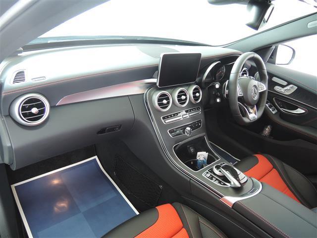 C63 エクスクルーシブパッケージ 4年保証 新車保証(11枚目)