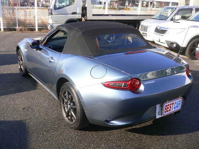 「マツダ」「ロードスター」「オープンカー」「広島県」の中古車4