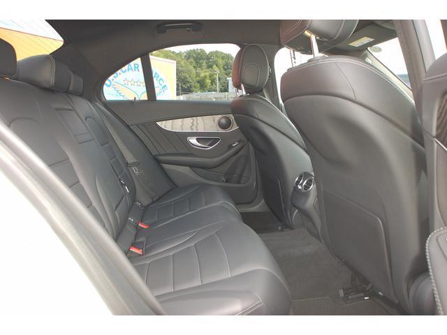 メルセデス・ベンツ M・ベンツ C200アバンギャルド AMGライン Rセーフティ 黒本革