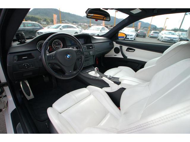 M3Mドライブ カーボンボンネット 白革シート エアロ(4枚目)