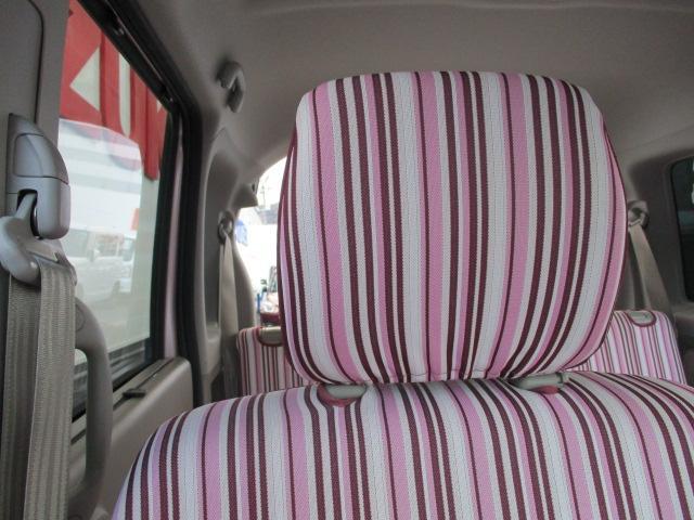シート柄です。オプションシートカバーがついています。