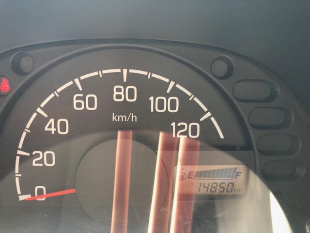 走行14850キロです。