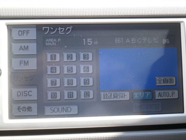 トヨタ パッソ プラスハナ SDナビゲーション ETC 純正フルエアロ