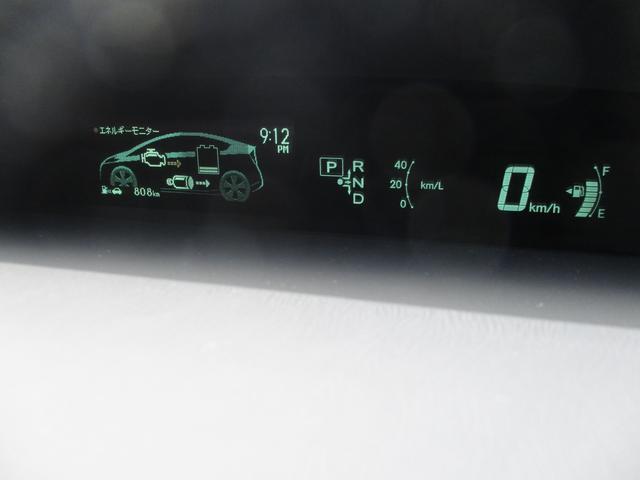 トヨタ プリウス G 純正ナビ ワンセグ 新品革調シートカバー