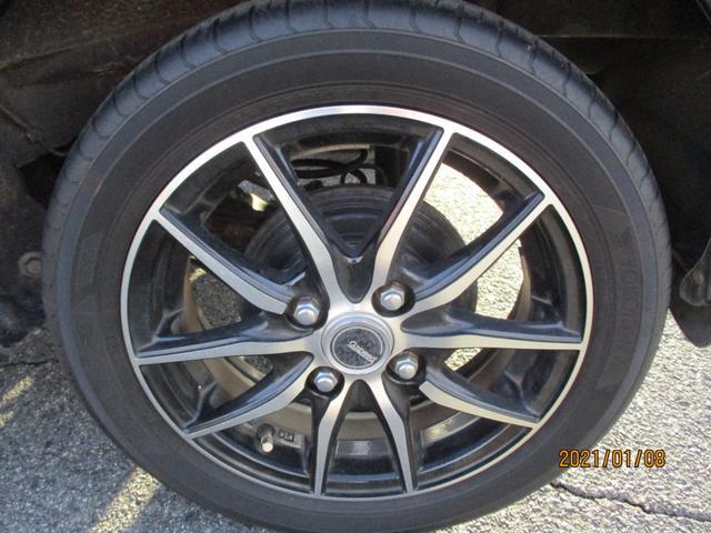 タイヤに関しましては交換時期が迫っております。格安タイヤの取り扱いもございますのでお気軽にお問い合わせくださいませ。