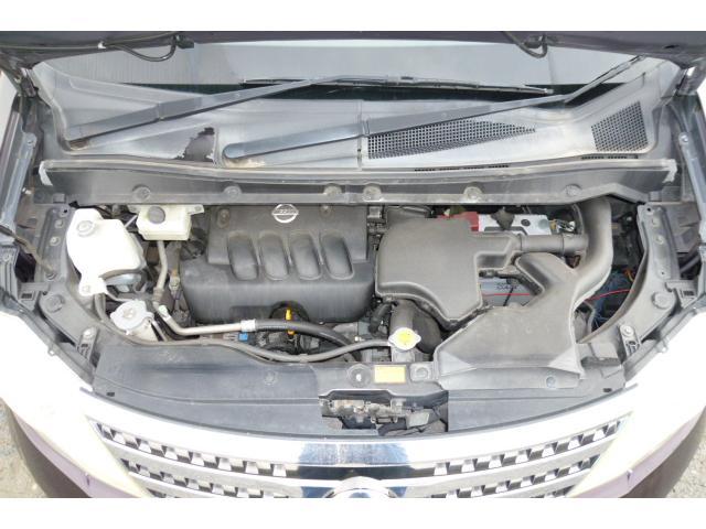 ハイウェイスター Vエアロセレクション ワンオーナー スマートキー 4輪車高調 HID HDDナビフルセグTV フリップダウンモニター 両側パワースライドドア タイミングチェーン(35枚目)