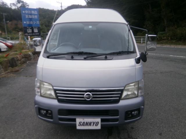 日産 キャラバンコーチ GX 10人乗 ETC