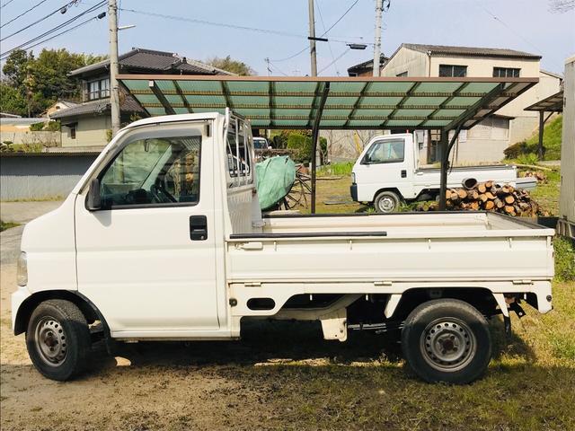 AC MT 軽トラック 2名乗り ホワイト 三方開(5枚目)
