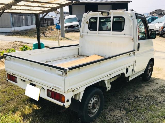 AC MT 軽トラック 2名乗り ホワイト 三方開(34枚目)