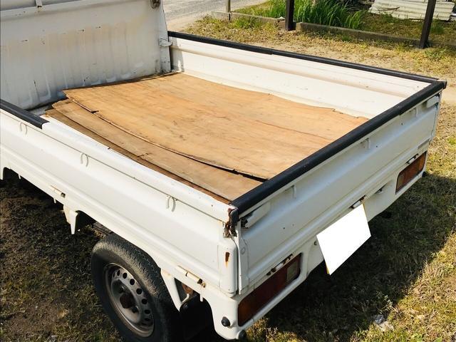 AC MT 軽トラック 2名乗り ホワイト 三方開(35枚目)