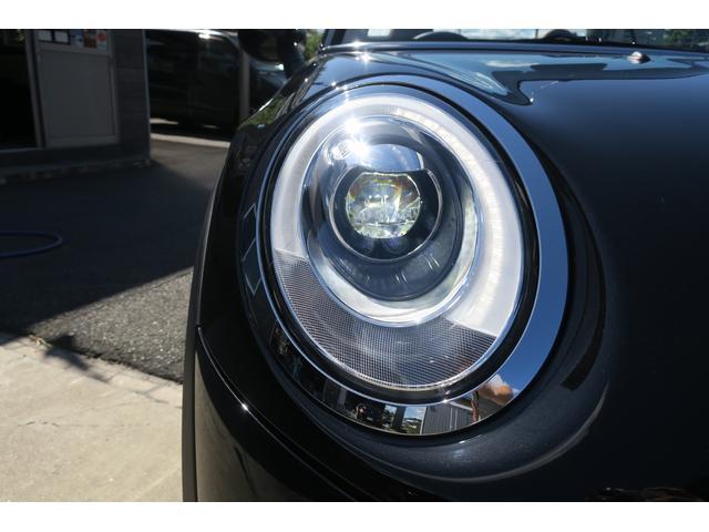 MINI MINI クーパーS コンバーチブル モルドブラウンシート LED