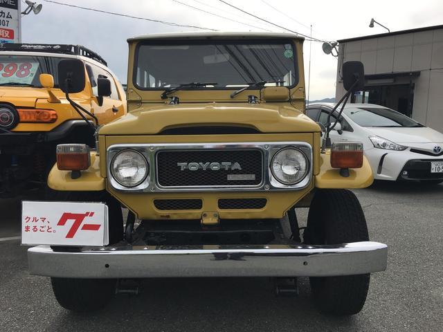 トヨタ ランドクルーザー40 観音開 4WD ETC ノーマル