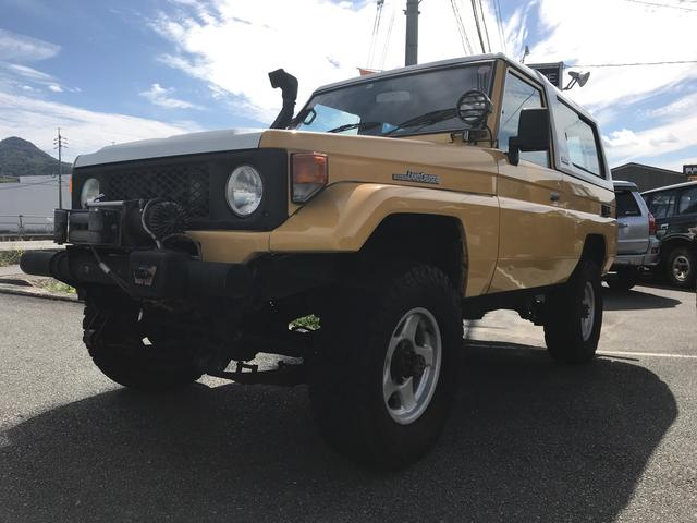 トヨタ ランドクルーザー70 LX BJ74改IHZターボ公認前後デフロックリフトアップ