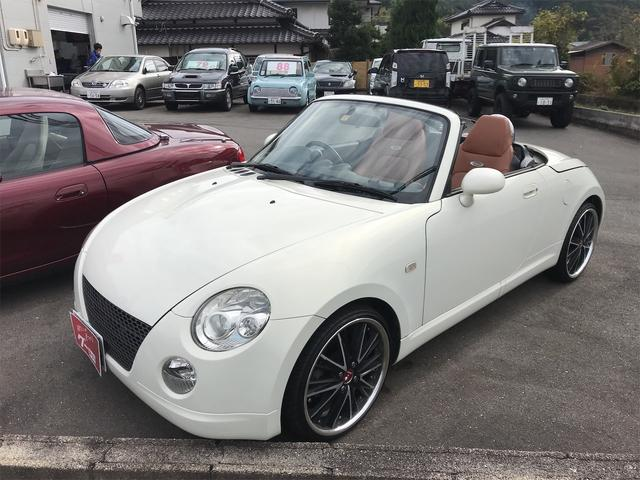 「ダイハツ」「コペン」「オープンカー」「山口県」の中古車27