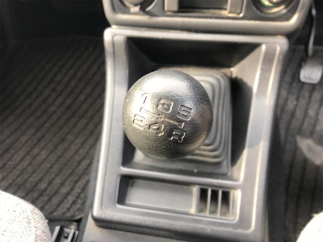 ノマド 4WD 5名乗り 5MT 記録簿 ノーマル車(28枚目)