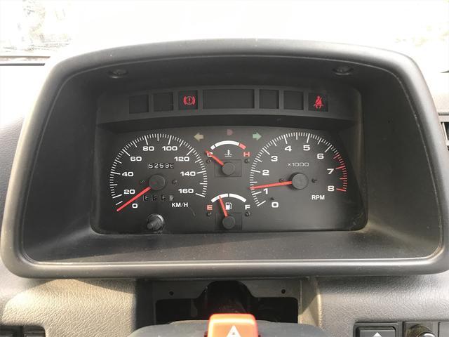 ノマド 4WD 5名乗り 5MT 記録簿 ノーマル車(30枚目)