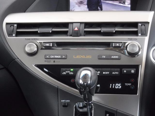 レクサス RX RX270 1オーナー HDDナビTV サイド バックカメラ