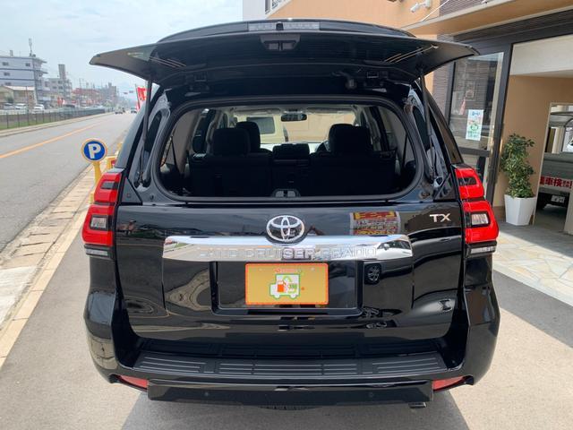 TX 新品ナビテレビ ブルートゥース対応 トヨタセーフティーセンス 新車メーカー保証令和7年7月 7人乗り ディーゼル サンルーフ オートクルーズ プッシュスタート オートエアコン 2800ディゼル(16枚目)