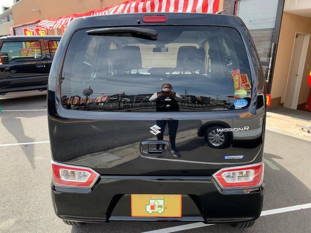 ハイブリッドFX 新品ナビTV Bluetooth対応 スズキセーフティーセンス 新車メーカー保証令和7年1月10万キロ 安全ブレーキ プッシュスタート  キーフリー オートエアコン(15枚目)