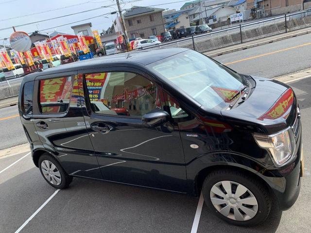 ハイブリッドFX 新品ナビTV Bluetooth対応 スズキセーフティーセンス 新車メーカー保証令和7年1月10万キロ 安全ブレーキ プッシュスタート  キーフリー オートエアコン(18枚目)