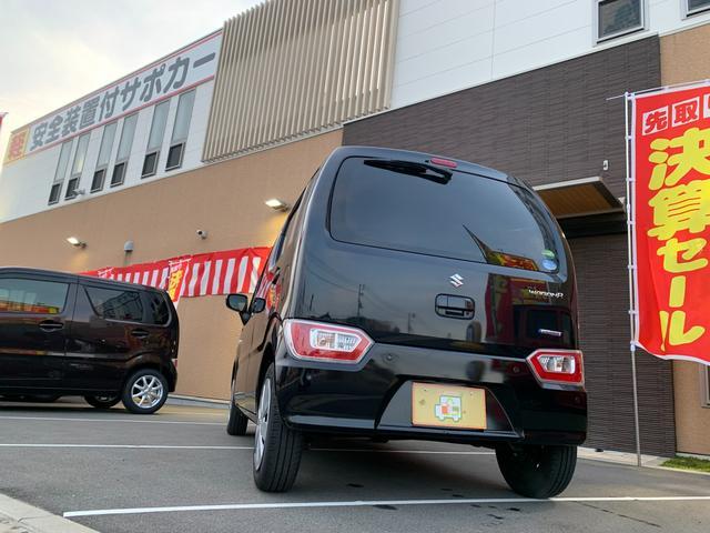 ハイブリッドFX 新品ナビテレビ ブルートゥース対応 新車保証令和5年9月 ハイブリッド 安全ブレーキ キーフリー プッシュスタート オートエアコン オートライト 電動格納ミラー(35枚目)
